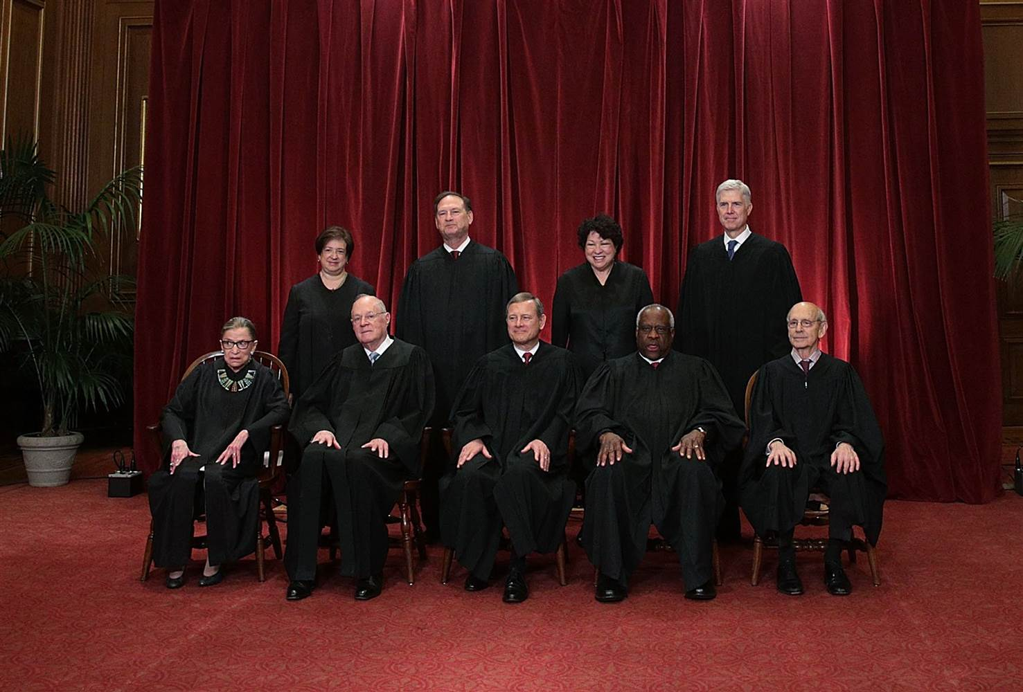 Judges of the Supreme Court of the United States of America